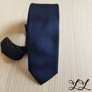 Shoreditch London Tie Skinny Tie Blue Green White